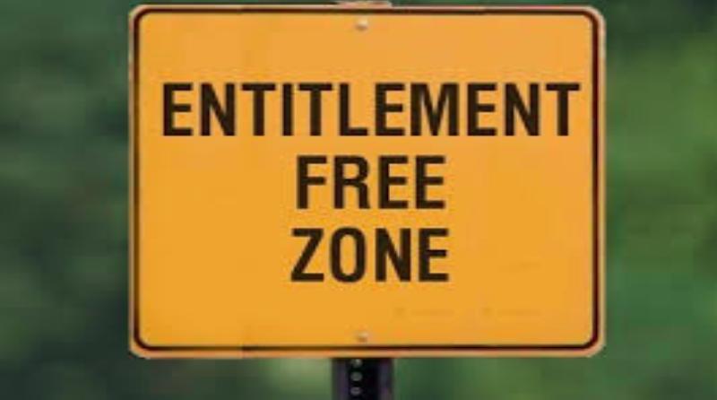 Entitlement Free Zone