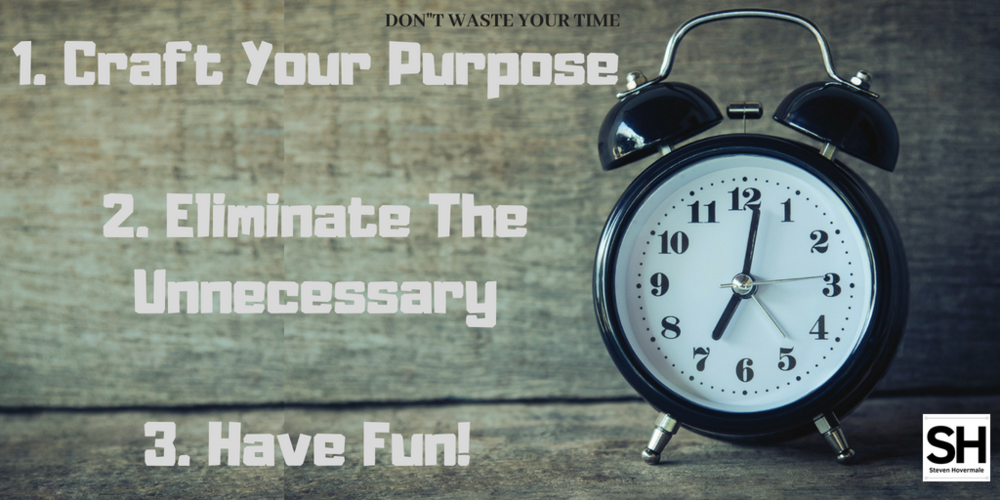 1. Craft Your Purpose2. Eliminate The Unnecessary3. Have Fun!.png