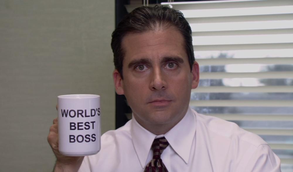 Michael Scott = High Class Boss