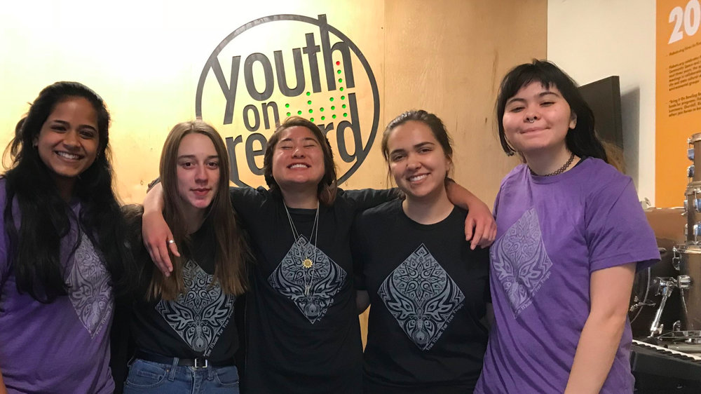 FM4FP offers opportunity to youth. - FM4FP has collaborated with Youth on Record to offer the participants of their girls club - FEMpowered, an events internship opportunity.