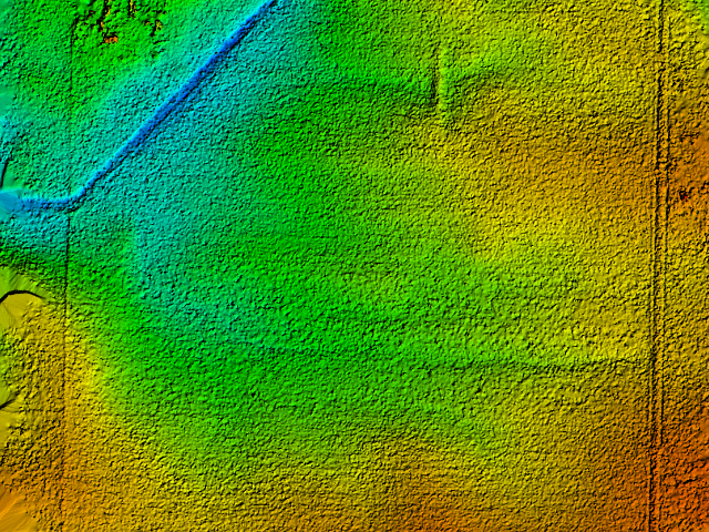 Drones can generate Digital Surface Models (DSMs) to show where drainage problems may exist on your worksite.