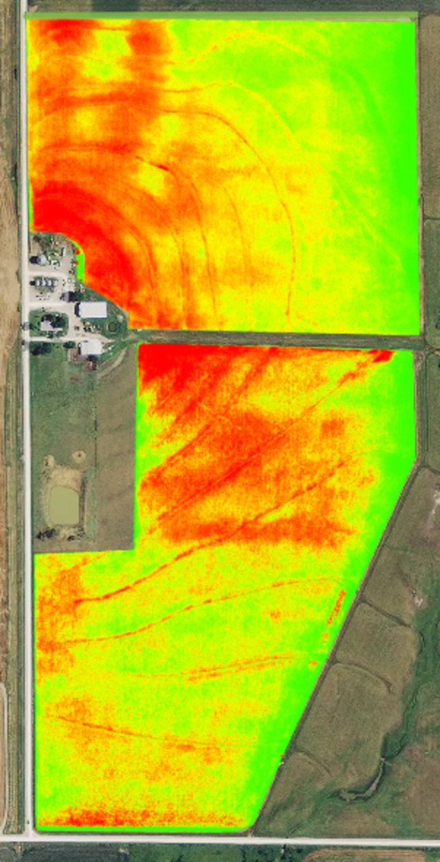 We recommend NIR sensors and true NDVI for the most timely and accurate assessment of your crop health. Fortunately, you can probably purchase an NIR sensor for less than you think.