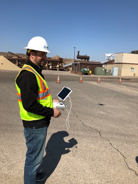 Our Pilot, Will, always practices safety first when he is out flying aggregate pits with our customers. He remains out of harm's way while collecting all of the data and imagery they need.