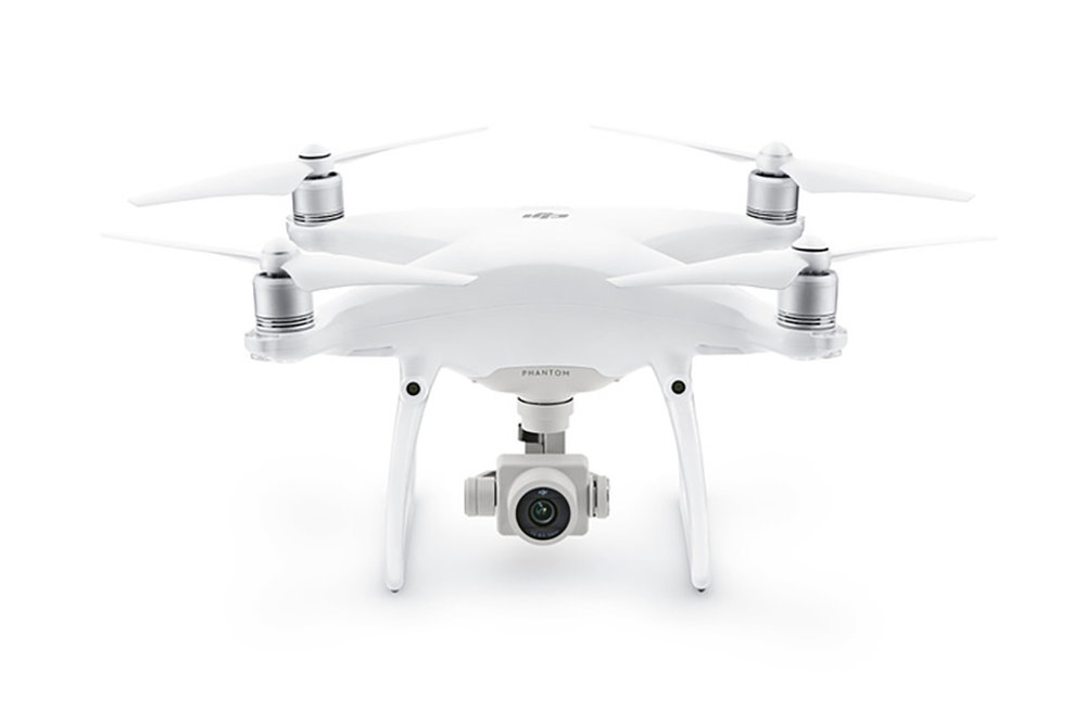 DJI™ Phantom 4 Pro - Max. Flight time (minutes): 30 minutesMax. Speed (mph): 45 mphMax. Wind Resistance (mph): 22 mphWeight With Battery and Prop (lbs): 3 lbsBattery Type and Capacity (mAh):LiPo, 5870Swappable Camera: No