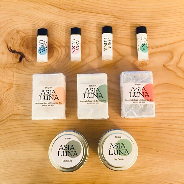 These are just some of the fantastic products that are available at our co-operative. Shout out to @asialunasoap, a fantastic family-owned local business for supplying us with all natural soaps, candles and lip balm. Come and see what other amazing local producers we stock! #upstatenewyork #columbiacounty #iloveupstateny #naturalsoap #local #localisbetter #supportsmallbusiness #supportthecommunity