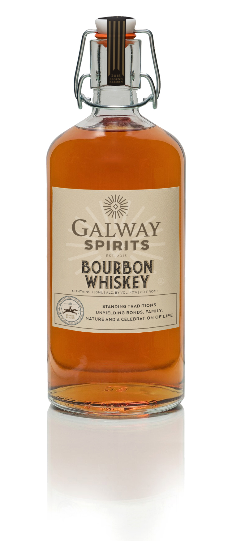 Bourbon - Sunset AmberA sophisticated flavor with excellent bouquet, solid throughout with honey, caramel, vanilla and a hint of orange. Silky smooth, drawing together to a remarkably warm finish.