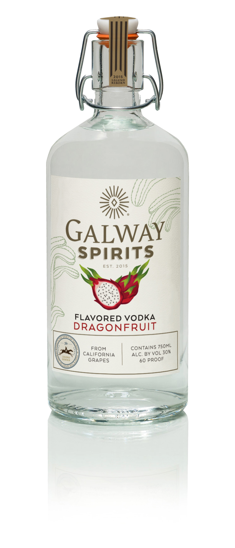Dragonfruit Flavored Vodka - Subtle Yet SweetA mild, sweet flavor that does not overwhelm. Dragonfruit is said to have been created by the breath of a dragon. This is a vodka that you will truly treasure like a rare jewel