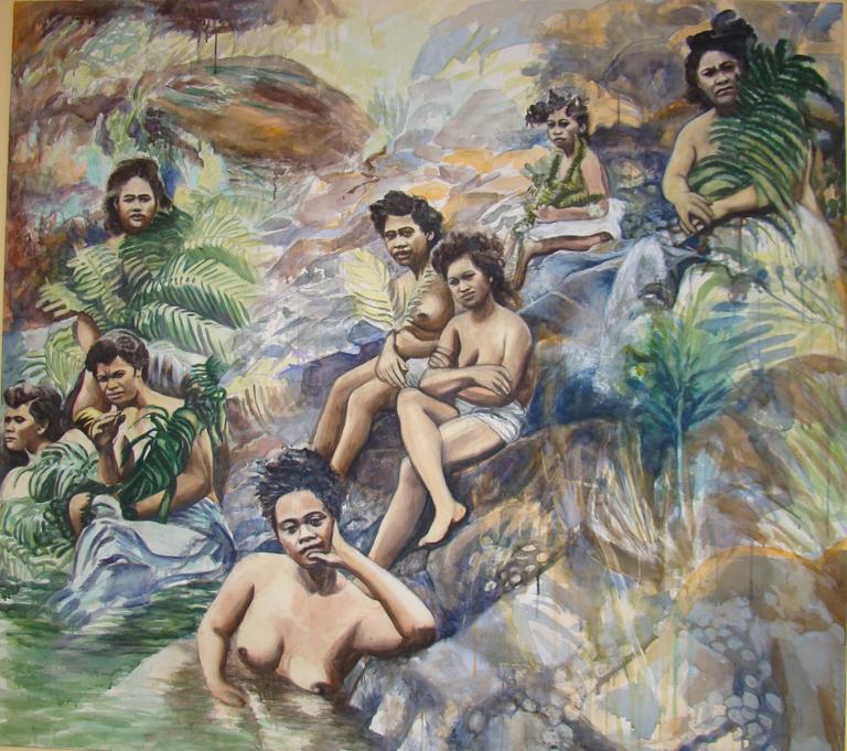 Hawai'ian Bathers