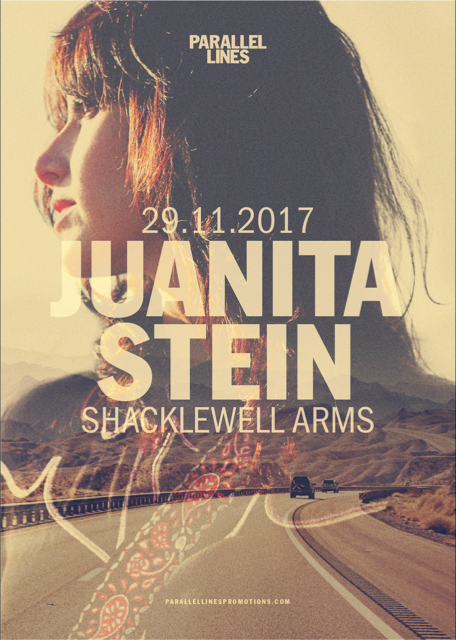 Just Announced: London Headline Show  GET TIX HERE:  http://www.seetickets.com/event/juanita-stein/the-shacklewell-arms/1144179