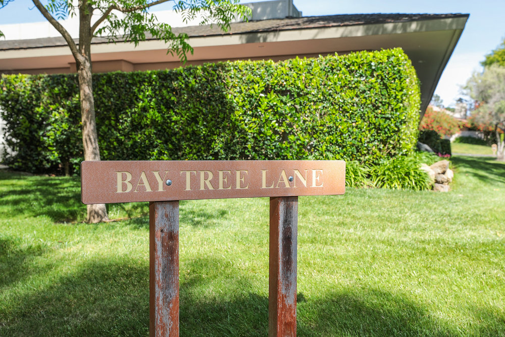 Bay Tree Lane Sign