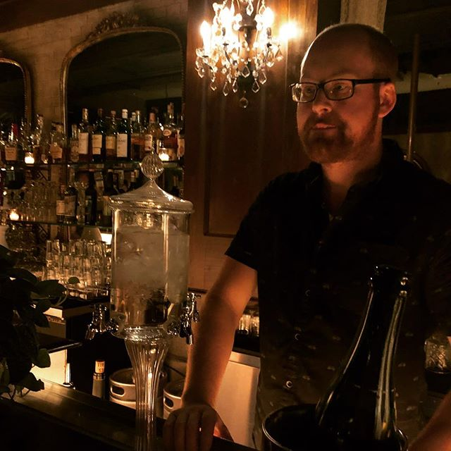 Contemplation. Absinthe service as arrived. #absinthechicago #absinthe #absinthecocktails