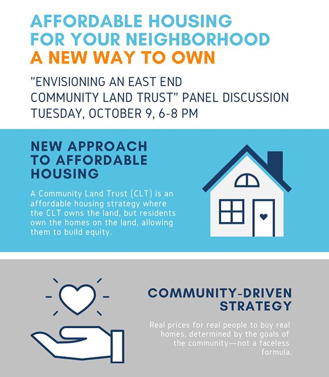 TOMORROW! Join us to explore this innovative new approach to affordable housing & discover a new way to own a 🏡  MORE INFO ➡️ LINK IN BIO #affordablehousing #meetyourneighbors #eebphtx