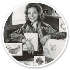 Lauren Bacall in Fortunoff Advertisement