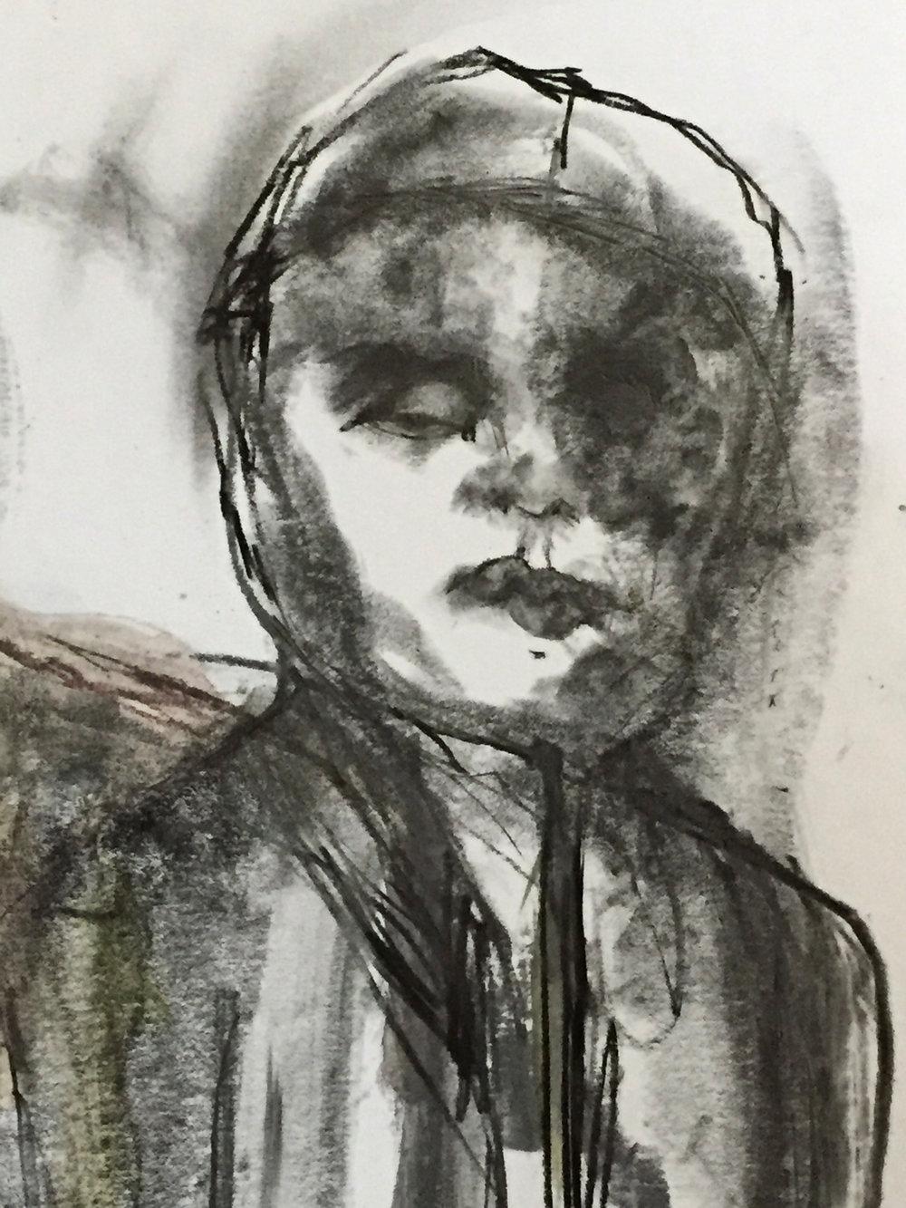 STUDY   graphite, paper