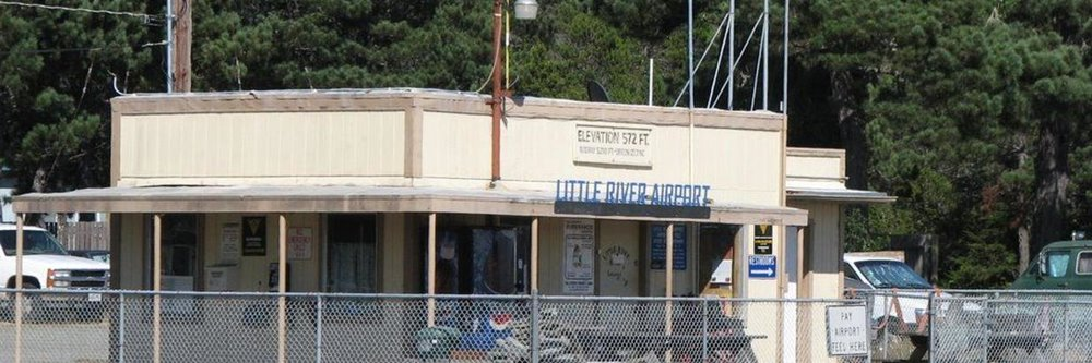 The Little River Airport office
