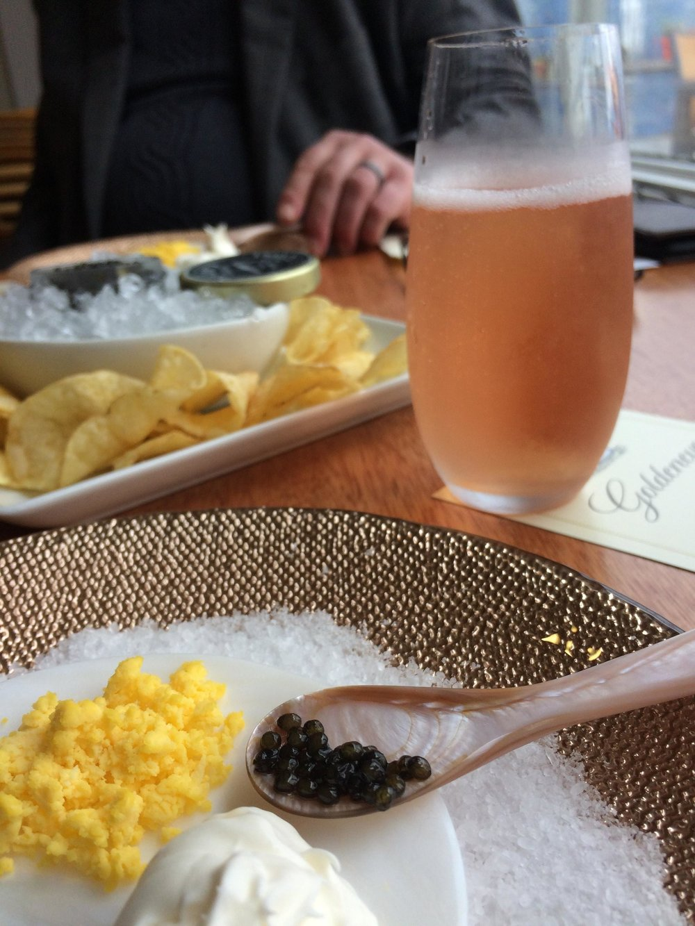 Bubbles and Caviar