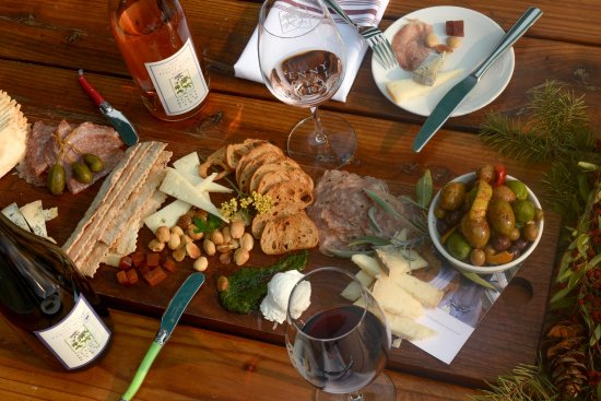 Food and wine at Pennyroyal