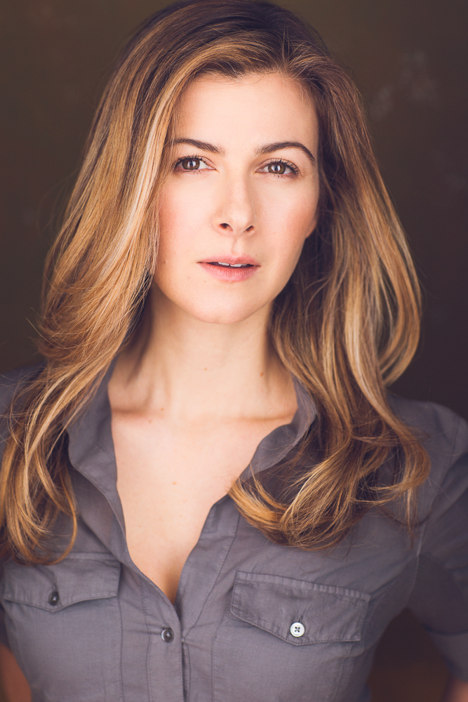 Actress Heather Corrigan Headshot