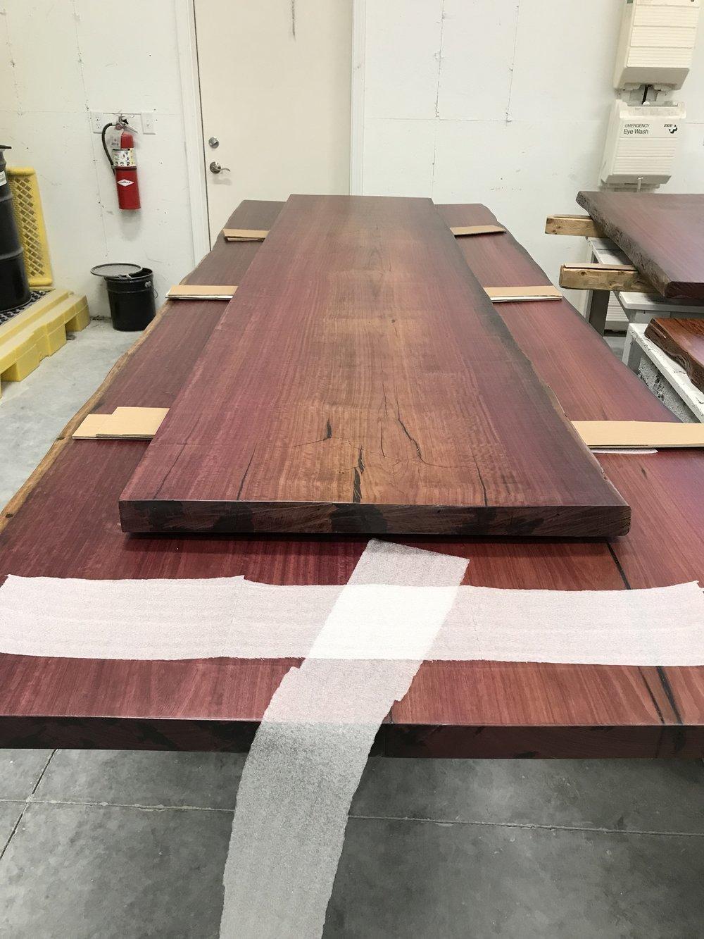 Finished Purple Heart - Reclaimed