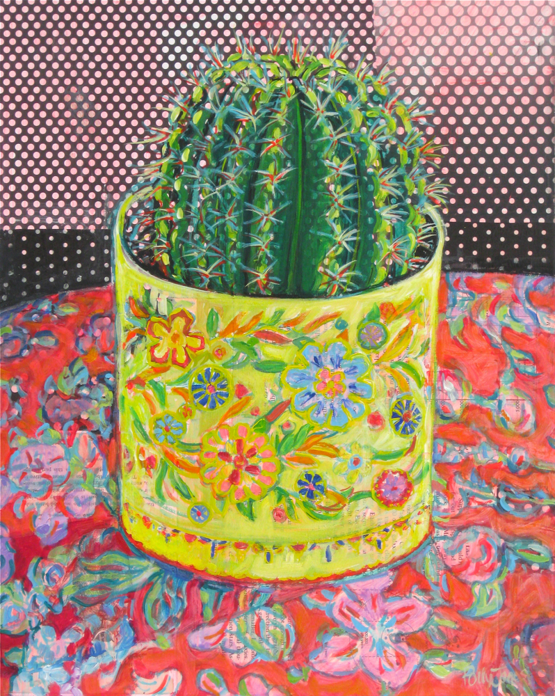 CACTUS IN THE GOLDEN TIN