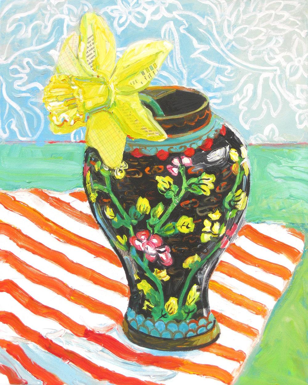 Daffodil in a Ginger Jar