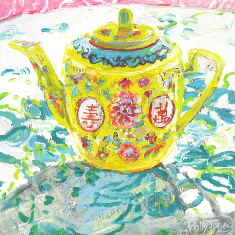 Teapot in Sunshine