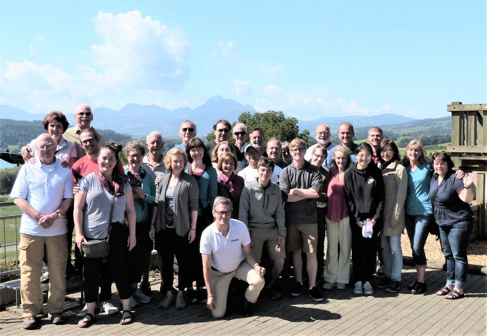 Our 2018 tour group in France