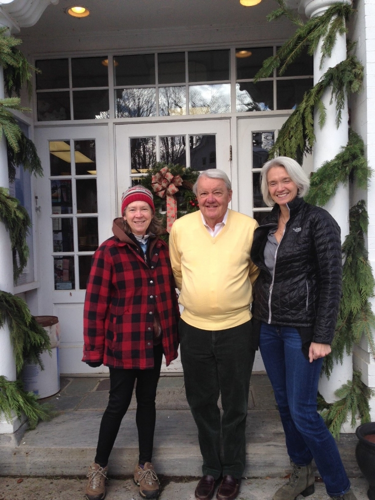 Noreen Driscoll(Sweethaven Farm), Selectman Henry Todd, State Rep. Maria Horn