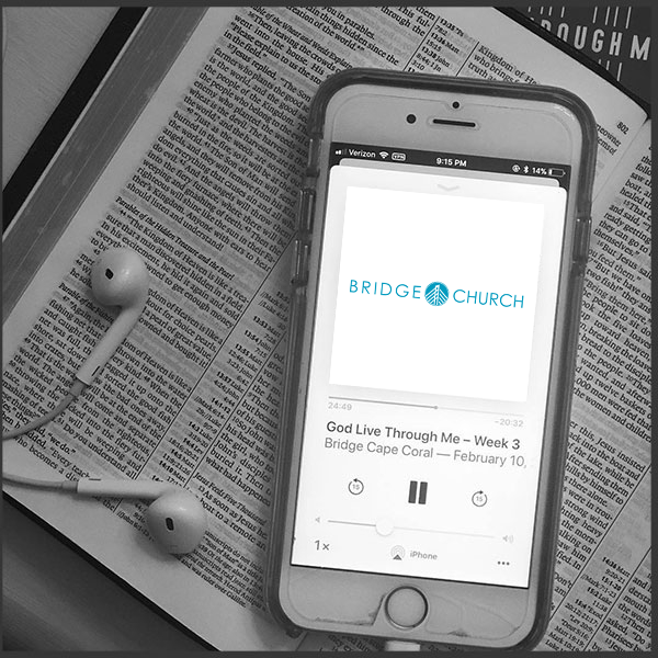 Connect to everything God has for your life. - Relevant topics every week.