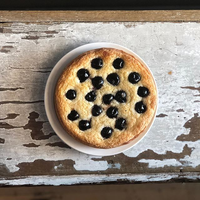 Pictured is our Cherry Frangipane; a crisp tart shell filled with Grand Marnier almond cream that bakes to a cake-like consistency. Stop in and sample if you haven't tried it! Available in two sizes. #frangipane #rusticabakery #mplsbakery