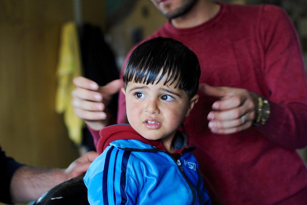 Fargelegger flukten - I en flyktningleir er det vanligvis ikke mange farger å få øye på. Det vil Mohammad Jokhadar og Diala Brilsy endre.
