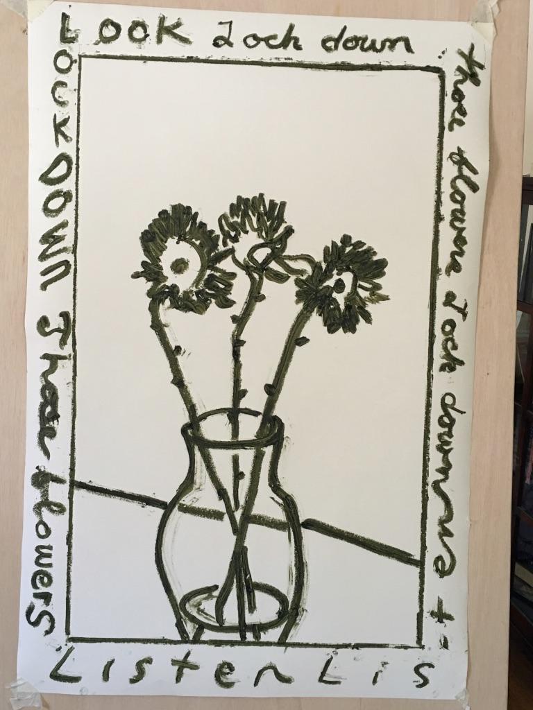 Lock down those flowers
