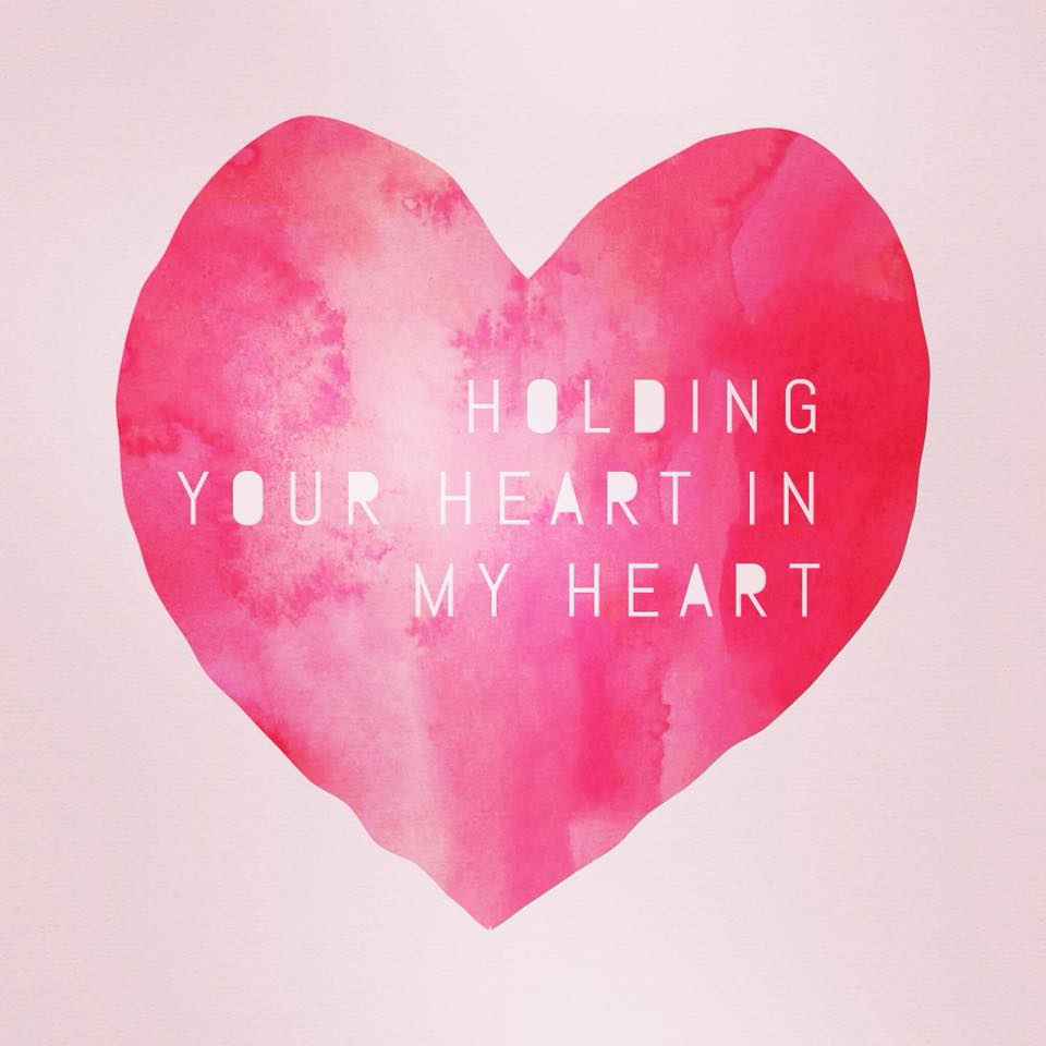 The holidays can bring complex feelings and realities to the surface of our hearts and minds. Lifetimes of grief. Lifetimes of love. Holding your heart in my heart while all of this is true.
