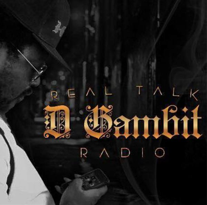 Interview with D Gambit Radio. Click photo for interview
