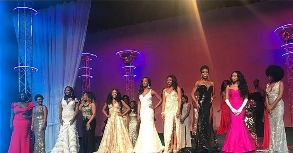 Top Ten Finalists Miss Black America 2018