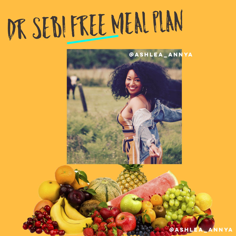 Free Dr Sebi Meal Plan Pdf Ashlea Annya