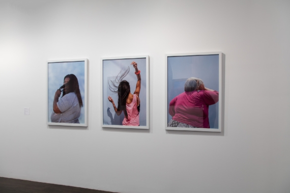 Installation view of 'The Power of Your Care' at the 8th Floor