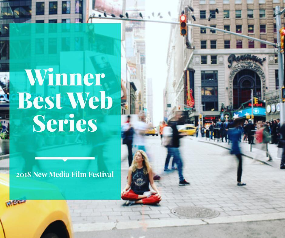 OM CITY WINS BEST WEB SERIES - OM CITY WINS BEST WEB SERIES AT THE 2018 NEW MEDIA FILM FESTIVAL