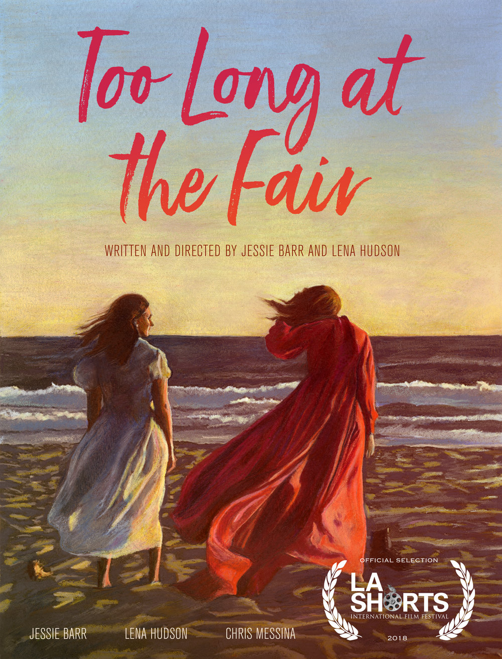 Too Long at the Fair WORLD PREMIERE  - TLATF WILL WORLD PREMIERE AT THE 2018 LA INTERNATIONAL SHORT FILM FESTIVALSCREENING on 7/26 AT LAEMMLE NOHO 7 at 1pmFOR TICKETS  CLICK HERE