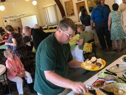 - Prince of Peace and St. Charles joining in fellowship