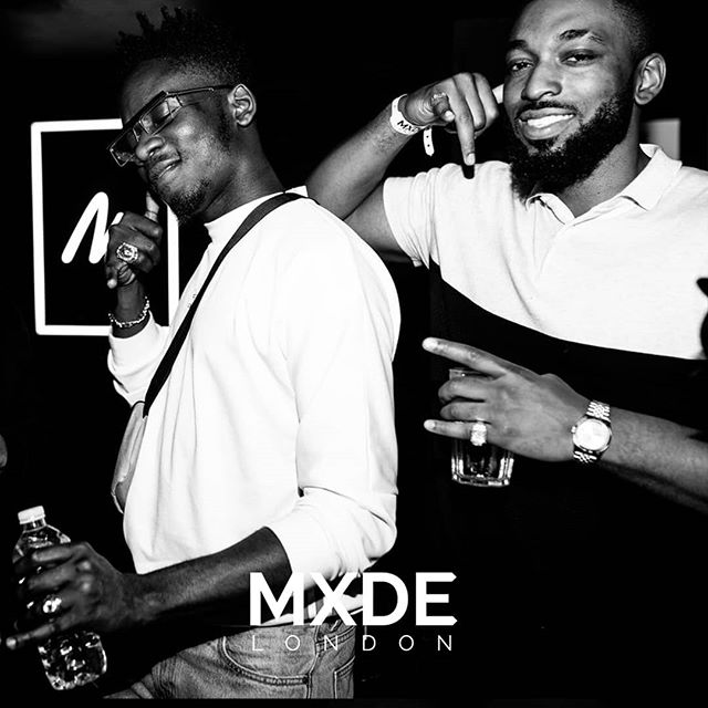 P H O T O  R E C A P | That's the money calling @mreazi and @bigtobzsf at the MXDE LONDON Launch party! RSVP to get early tickets for the next party by emailing us at mxdelondon@gmail.com #WEAREMXDELONDON Photographer - @dk__photos