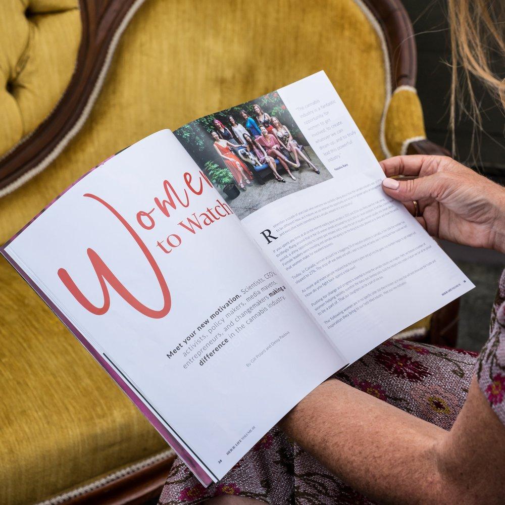 Her(B) Life magazine by Blum & Grow