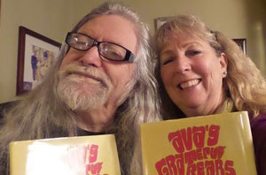 """Norman """"Spirit In the Sky"""" Greenbaum and Bonita Kapps - """"Just a couple of Deadheads loving Ava's Grateful Bears. Our highest recommendations!"""""""