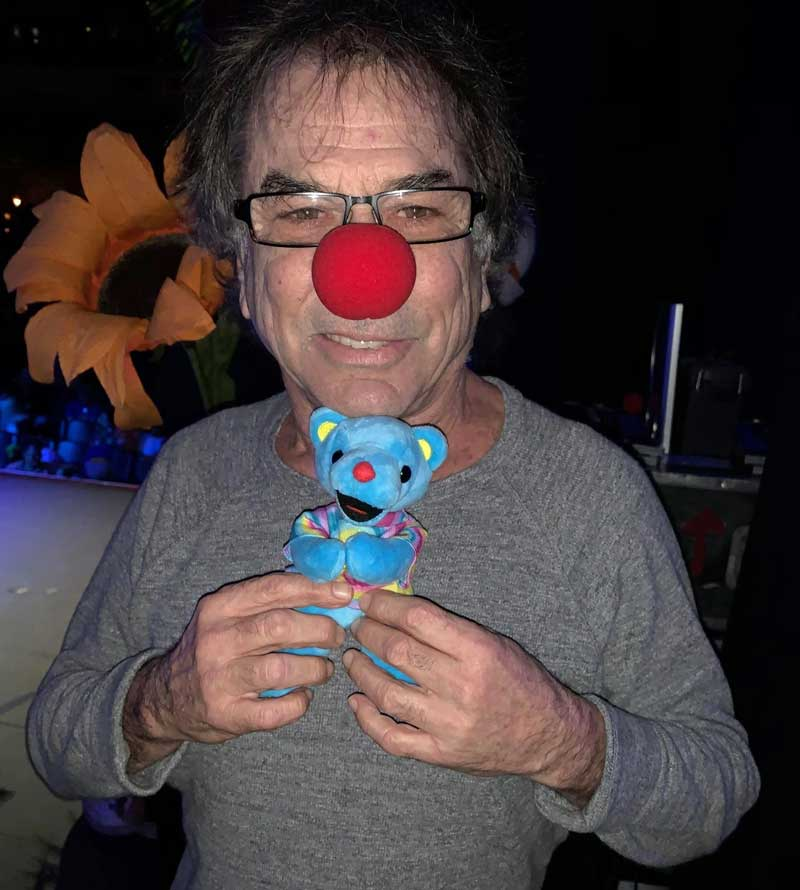 Mickey Hart of The Grateful Dead and Grateful Wavy Gravy Bear. Join the Sleuth! -