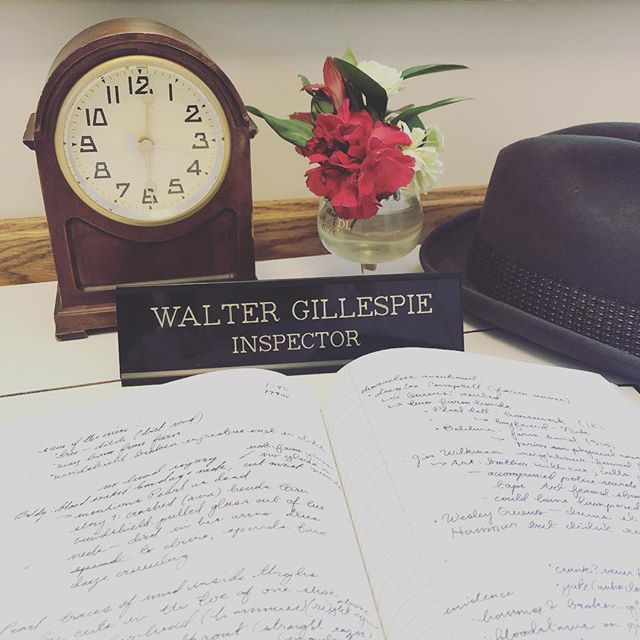 getting all of our props and set pieces ready for the next film. #MeetWalterGillespie #MysteryShortFilm2019