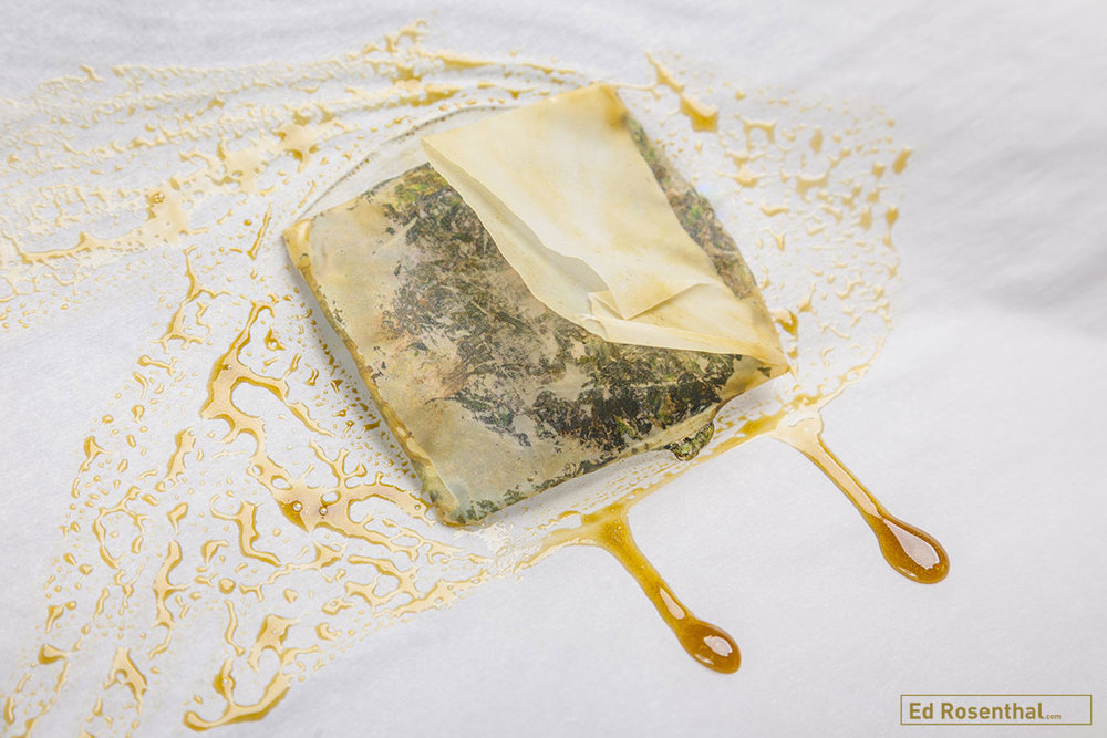 NEVER use wax paper, because you don't want wax to melt into your final product, and it will if you use wax instead of parchment paper. Photo by Fred Morledge –  Dabsel.com