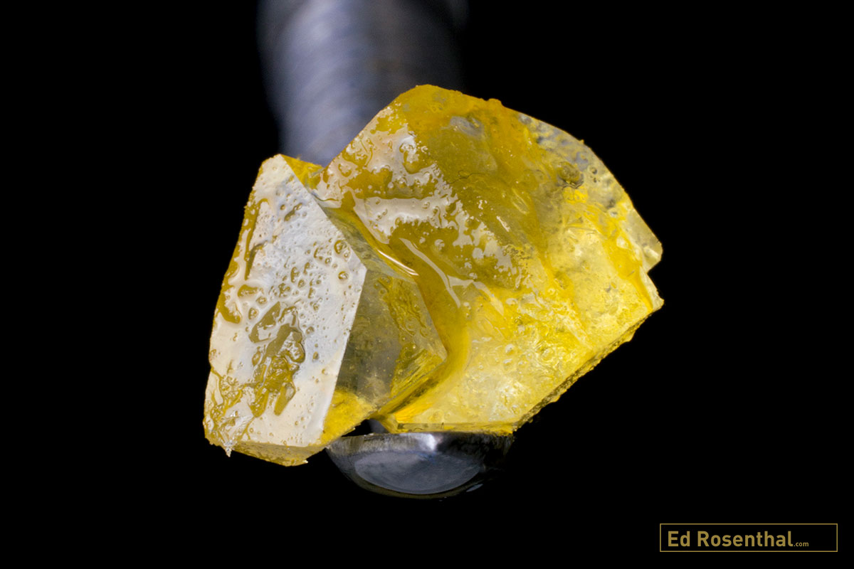 DIAMOND MINING WITH LIVE RESIN : A step by step guide to the
