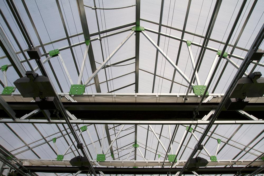 Light dep truss. Photo:  Gro-Tech Systems