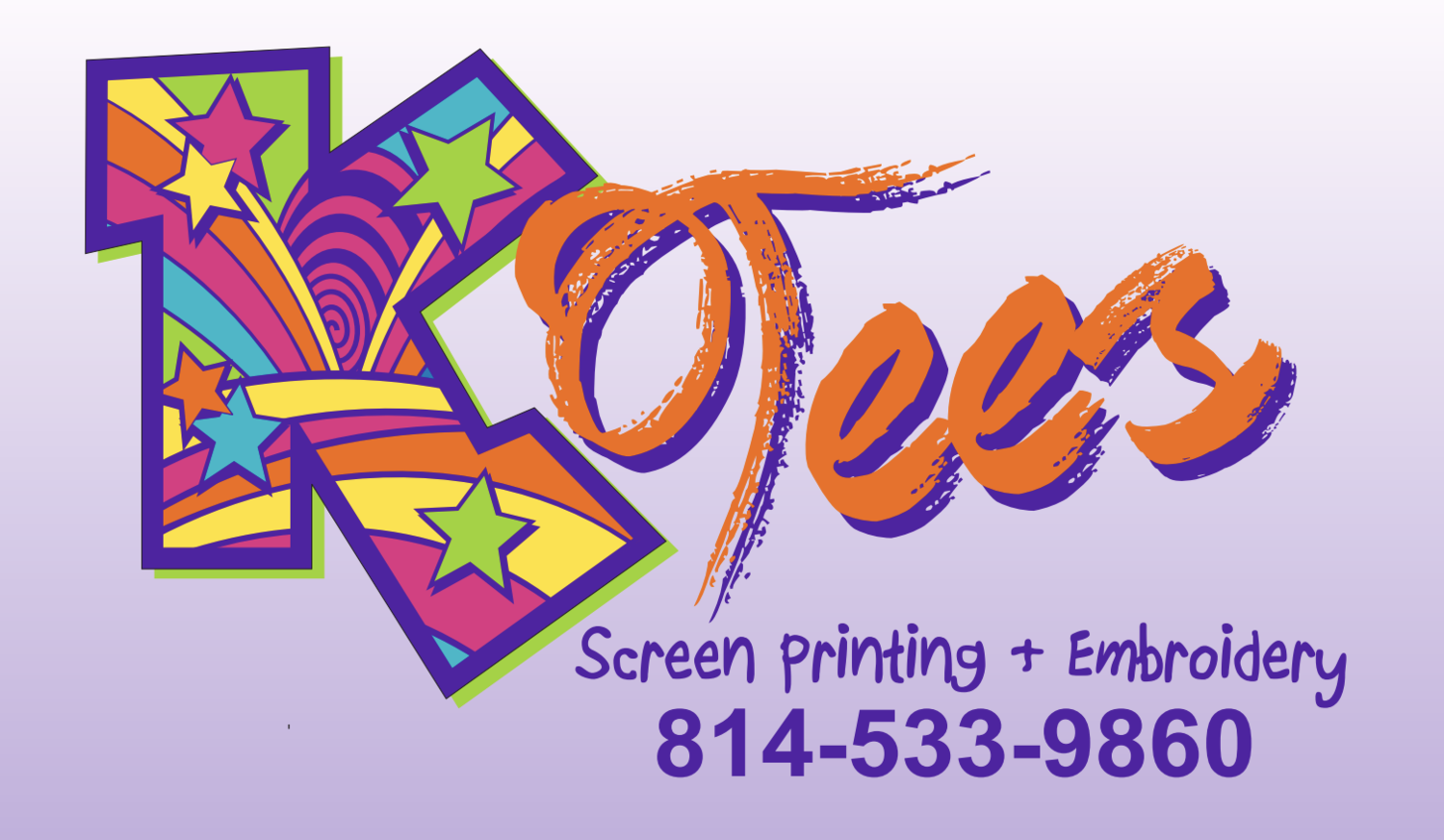 K Tees Screen Printing and Embroidery