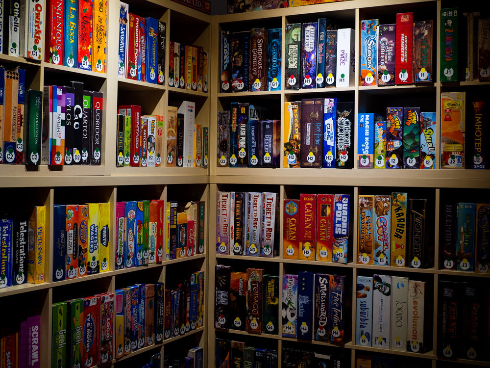 Game LIBRARY -